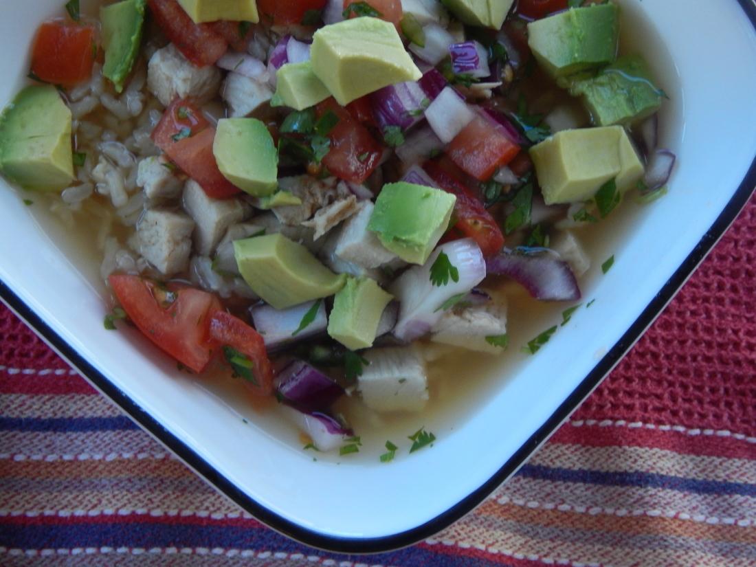 Tex-Mex Chicken and Rice Soup ‹ No Milk, No Soy, No Problem!